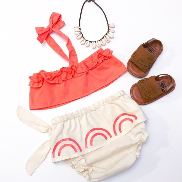 579a1dcc6fc67 Baby Moana outfit/costume with Necklace